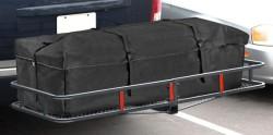 "Arksen 60"" Mounted Basket w/ Cargo Bag Combo $107"