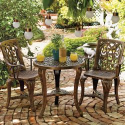 BrylaneHome 3-Piece Bistro Set for $75