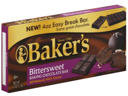 Baker's 4-Oz. Baking Chocolate Bar