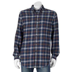Croft & Barrow Men's Flannel Sport Shirts