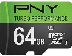 PNY 64GB microSD Class 10 Memory Card