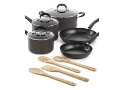 Martha Stewart Collection Hard-Anodized 12-Pc. Cookware Set