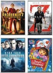 Movies Priced $7.50 - $19.99, Select Titles On Blu-Ray or DVD