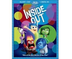 Inside Out On Blu-Ray / DVD / Digital Copy