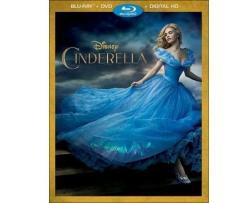 Cinderella On Blu-Ray / DVD / Digital Copy