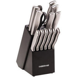 Farberware 15-Pc. Knife Set in Stainless Steel