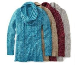 St. John's Bay Women's Sweater Tunic