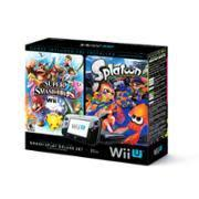 Nintendo Wii U 32GB Smash Splat Deluxe Console Bundle