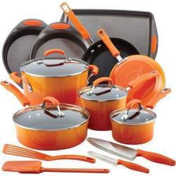 Rachael Ray 17-Pc. Cookware Set