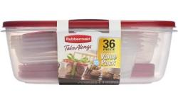 Rubbermaid TakeAlongs 36-Pc. Food Storage Set