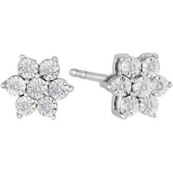 1/20-TCW Diamond Earrings