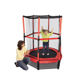 "Stats 55"" My First Trampoline w/ Enclosure"