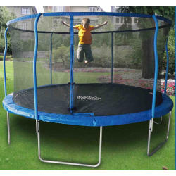 Stats 8-Ft. Trampoline w/ Enclosure