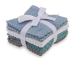 Washcloths 8-Pk., Assorted Colors