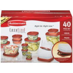 Rubbermaid Easy Find Lid 40-Pc. Food Storage Set