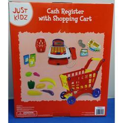 Just Kidz Cash Register w/ Shopping Cart