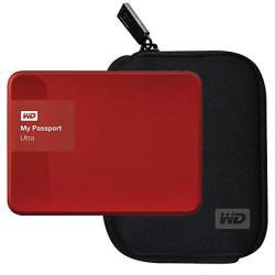 WD My Passport Ultra 2TB USB 3.0 Portable External Hard Drive + Case