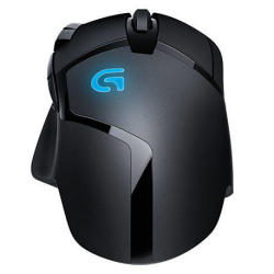 Logitech G402 Hyperion Fury Ultra-Fast FPS Gaming Mouse + Gaming Pad