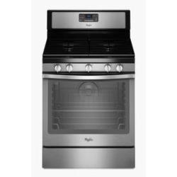 Whirlpool Refrigerator, Microwave, Gas Range & Dishwasher Bundle