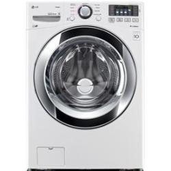 LG WM3370HWA 4.3-Cu. Ft. HE Washer w/ Steam Cycle