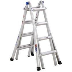 Werner 17-Ft. Aluminum Multi-Position Ladder