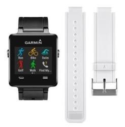 Garmin Vivoactive GPS Smartwatch + White Band