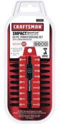 Craftsman 00999852 20-Pc. Power Drill/Driver Bit Set