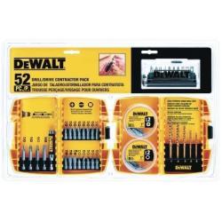 DeWalt 52-Pc. Drill/Driver Contractor Set
