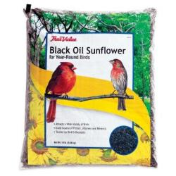 True Value Black Oil Sunflower Bird Seed