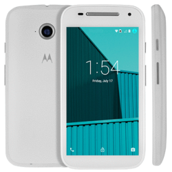 Motorola Moto E 2nd Gen LTE Android Phone + 100% Free Talk, Text, & Data