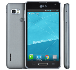 LG Optimus F3 LTE Phone + 100% Free Talk, Text, & Data From FreedomPop