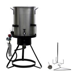 30-Qt. Aluminum Turkey Fryer