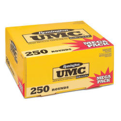 Remington UMC Mega Pack 9mm 250-Ct. Ammo