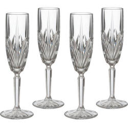 Waterford Crystal Brookside 4-Pc. Flute Glass Set