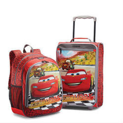 Disney Cars 2-Pc. Rolling Suitcase w/ Backpack Set
