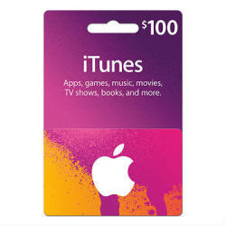 Apple iTunes $100 Gift Card