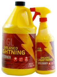 Greased Lightning 1-Gal. Cleaner/Degreaser + Bonus 32-Oz. Spray Bottle