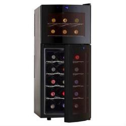 Wine Enthusiast 21-Bottle Dual Zone 2-Door Wine Cooler