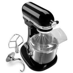 KitchenAid Pro 500 KSM500Q20B 5-Qt. Bowl-Lift Stand Mixer in Onyx Black
