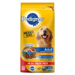 PEDIGREE Dog Food 46- to 50-Lb. Bags