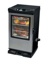 "Masterbuilt Sportsman Elite 40"" Smoker w/ Viewing Window & Remote"