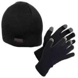 RedHead Beanie & Glove Combo in Black or Chestnut