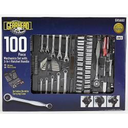 Gearhead 100-Pc. Mechanics Tool Set