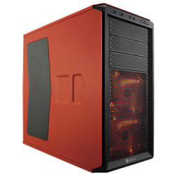 Corsair Graphite 230T Mid-Tower Computer Case in Rebel Orange