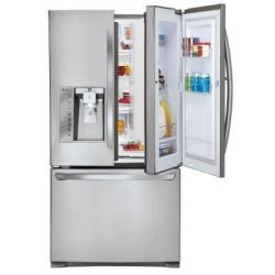 LG LFXS29766S 29-Cu. Ft. Door-in-Door French Door Refrigerator in Stainless Steel