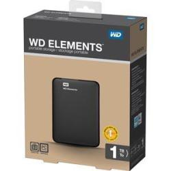 WD Elements 1TB USB 3.0 External Hard Drive