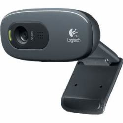 Logitech C270 USB 2.0 720p HD Webcam w/ Built-In Mic