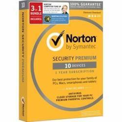Norton Security Premium + Utilities + Computer Tune-Up Software Bundle