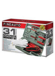 35-Pc. Roadside Emergency Tool Kit