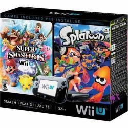 Wii U 32GB Smash Splat Deluxe Console Bundle